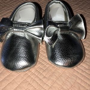 Other - Silver moccasins